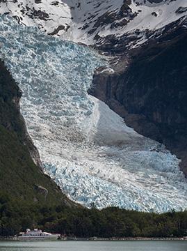 Ultra Fiord Patagonia Chile Glacier