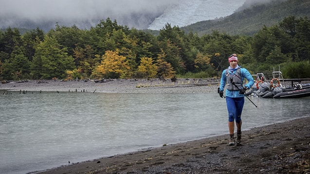 Manuela Vilaseca Ultra Trail Running Patagonia, Chile Ultra Fiord 70K 2015