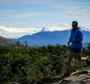 Ultra Trail Running in Ultima Esperanza, Patagonia, Chile; Ultra Fiord Route Scenery Running