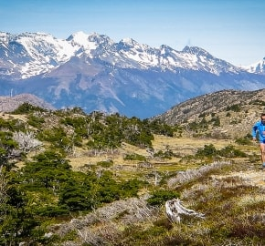 Ultra Trail Running in Ultima Esperanza, Patagonia, Chile; Ultra Fiord Route Mountain Trail