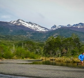 Ultra Trail Running in Ultima Esperanza, Patagonia, Chile; Ultra Fiord Route Fjord Trail