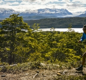 Ultra Trail Running in Ultima Esperanza, Patagonia, Chile; Ultra Fiord Route Fjord and Mountain Running