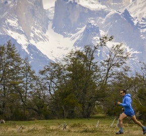 Ultra Trail Running in Ultima Esperanza, Patagonia, Chile; Ultra Fiord Route Patagonia Running