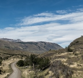 Ultra Trail Running in Ultima Esperanza, Patagonia, Chile; Ultra Fiord Route Mountain Range