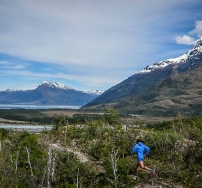 Ultra Trail Running in Ultima Esperanza, Patagonia, Chile; Ultra Fiord Route Fjord Trail Running