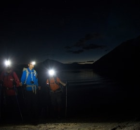 Ultra Trail Running in Ultima Esperanza, Patagonia, Chile; Ultra Fiord Route Night Trail Running