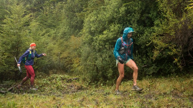 Patagonia, Chile Ultra Trail Running Ultra Fiord 2015 Krissy Moehl and Brittany Dick