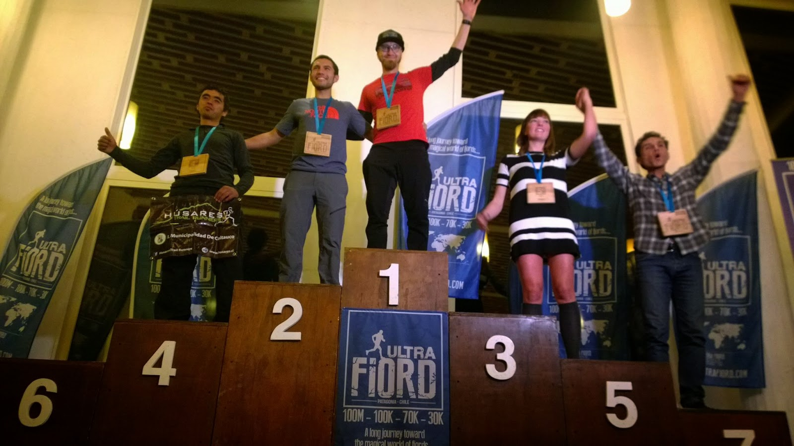 Ultra Fiord Finish Line 2015, Patagonia, Chile