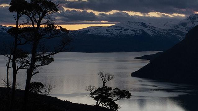 Ultima Esperanza, Patagonia, Chile, Ultra Fiord