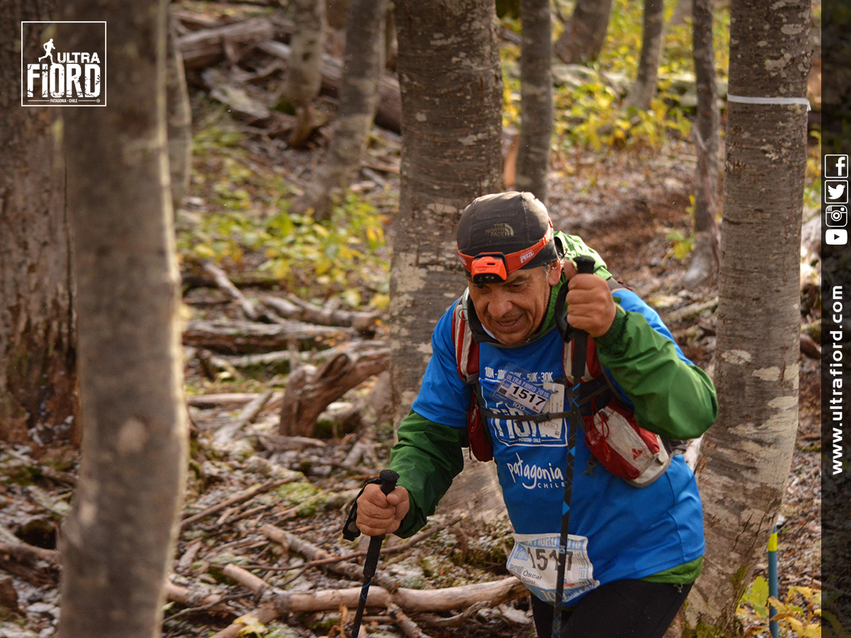 Ultra Trail Running in Patagonia, Chile; Torres del Paine; Ultima Esperanza; Puerto Natales; Ultra Fiord Second Edition 2016