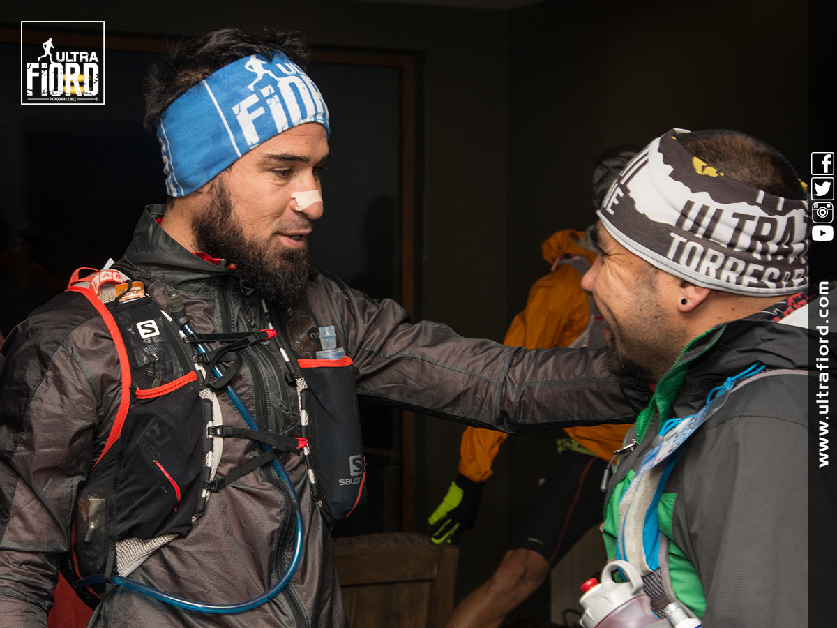 utf1604lues8730Ultra Trail Running in Patagonia, Chile; Torres del Paine; Ultima Esperanza; Puerto Natales; Ultra Fiord Second Edition 2016