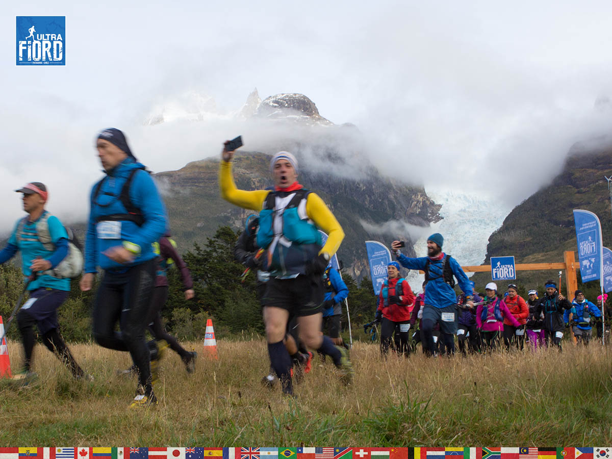 Ultra Trail Running in Patagonia, Chile; Ultra Fiord Fourth Edition 2018; Torres del Paine; Última Esperanza; Puerto Natales; Patagonia Running Ultra Trail; Claudio Silva