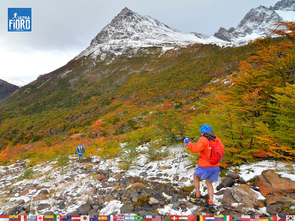 Ultra Trail Running in Patagonia, Chile; Ultra Fiord Fourth Edition 2018; Torres del Paine; Última Esperanza; Puerto Natales; Patagonia Running Ultra Trail; Guillermo Salgado