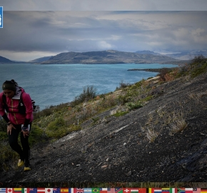utf1904algo1847FB; Ultra Trail Running in Patagonia, Chile; Ultra Fiord Fifth Edition 2019; Torres del Paine; Última Esperanza; Puerto Natales; Patagonia Running Ultra Trail; Alejandro González