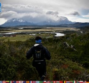 utf1904algo2295FB; Ultra Trail Running in Patagonia, Chile; Ultra Fiord Fifth Edition 2019; Torres del Paine; Última Esperanza; Puerto Natales; Patagonia Running Ultra Trail; Alejandro González
