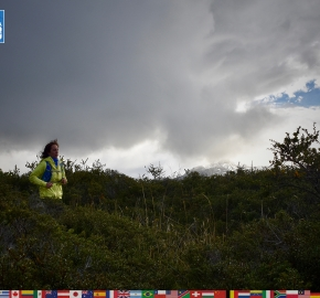 utf1904algo2452FB; Ultra Trail Running in Patagonia, Chile; Ultra Fiord Fifth Edition 2019; Torres del Paine; Última Esperanza; Puerto Natales; Patagonia Running Ultra Trail; Alejandro González