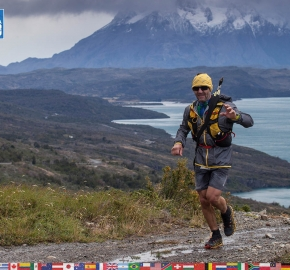 utf1904clsi0007FB; Ultra Trail Running in Patagonia, Chile; Ultra Fiord Fifth Edition 2019; Torres del Paine; Última Esperanza; Puerto Natales; Patagonia Running Ultra Trail; Claudio Silva