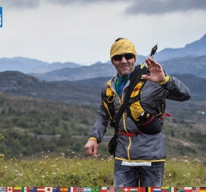 utf1904clsi0008FB; Ultra Trail Running in Patagonia, Chile; Ultra Fiord Fifth Edition 2019; Torres del Paine; Última Esperanza; Puerto Natales; Patagonia Running Ultra Trail; Claudio Silva