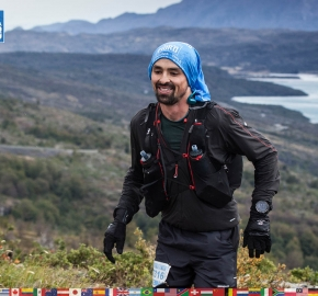 utf1904clsi0013FB; Ultra Trail Running in Patagonia, Chile; Ultra Fiord Fifth Edition 2019; Torres del Paine; Última Esperanza; Puerto Natales; Patagonia Running Ultra Trail; Claudio Silva
