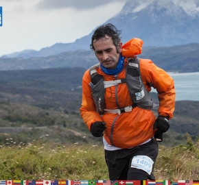 utf1904clsi0017FB; Ultra Trail Running in Patagonia, Chile; Ultra Fiord Fifth Edition 2019; Torres del Paine; Última Esperanza; Puerto Natales; Patagonia Running Ultra Trail; Claudio Silva