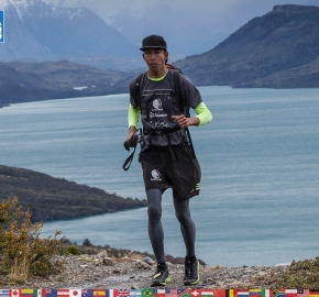 utf1904clsi0018FB; Ultra Trail Running in Patagonia, Chile; Ultra Fiord Fifth Edition 2019; Torres del Paine; Última Esperanza; Puerto Natales; Patagonia Running Ultra Trail; Claudio Silva