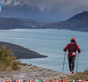 utf1904clsi0030FB; Ultra Trail Running in Patagonia, Chile; Ultra Fiord Fifth Edition 2019; Torres del Paine; Última Esperanza; Puerto Natales; Patagonia Running Ultra Trail; Claudio Silva