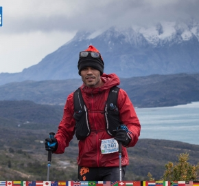 utf1904clsi0032FB; Ultra Trail Running in Patagonia, Chile; Ultra Fiord Fifth Edition 2019; Torres del Paine; Última Esperanza; Puerto Natales; Patagonia Running Ultra Trail; Claudio Silva