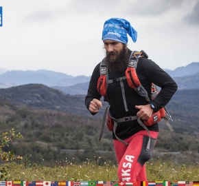 utf1904clsi0047FB; Ultra Trail Running in Patagonia, Chile; Ultra Fiord Fifth Edition 2019; Torres del Paine; Última Esperanza; Puerto Natales; Patagonia Running Ultra Trail; Claudio Silva