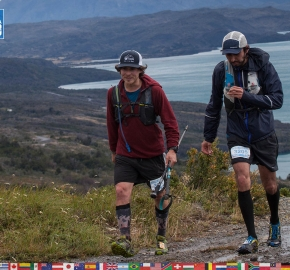 utf1904clsi0055FB; Ultra Trail Running in Patagonia, Chile; Ultra Fiord Fifth Edition 2019; Torres del Paine; Última Esperanza; Puerto Natales; Patagonia Running Ultra Trail; Claudio Silva