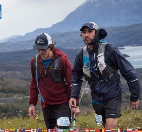 utf1904clsi0057FB; Ultra Trail Running in Patagonia, Chile; Ultra Fiord Fifth Edition 2019; Torres del Paine; Última Esperanza; Puerto Natales; Patagonia Running Ultra Trail; Claudio Silva