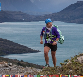 utf1904clsi0069FB; Ultra Trail Running in Patagonia, Chile; Ultra Fiord Fifth Edition 2019; Torres del Paine; Última Esperanza; Puerto Natales; Patagonia Running Ultra Trail; Claudio Silva