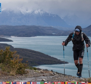utf1904clsi0074FB; Ultra Trail Running in Patagonia, Chile; Ultra Fiord Fifth Edition 2019; Torres del Paine; Última Esperanza; Puerto Natales; Patagonia Running Ultra Trail; Claudio Silva
