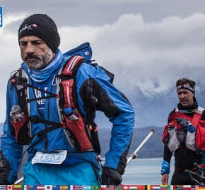 utf1904clsi0086FB; Ultra Trail Running in Patagonia, Chile; Ultra Fiord Fifth Edition 2019; Torres del Paine; Última Esperanza; Puerto Natales; Patagonia Running Ultra Trail; Claudio Silva