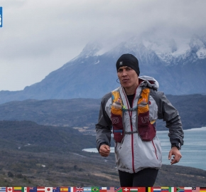 utf1904clsi0092FB; Ultra Trail Running in Patagonia, Chile; Ultra Fiord Fifth Edition 2019; Torres del Paine; Última Esperanza; Puerto Natales; Patagonia Running Ultra Trail; Claudio Silva