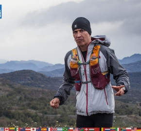 utf1904clsi0093FB; Ultra Trail Running in Patagonia, Chile; Ultra Fiord Fifth Edition 2019; Torres del Paine; Última Esperanza; Puerto Natales; Patagonia Running Ultra Trail; Claudio Silva