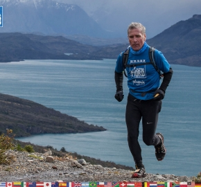 utf1904clsi0110FB; Ultra Trail Running in Patagonia, Chile; Ultra Fiord Fifth Edition 2019; Torres del Paine; Última Esperanza; Puerto Natales; Patagonia Running Ultra Trail; Claudio Silva