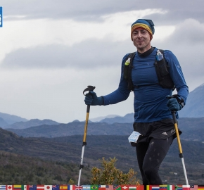 utf1904clsi0115FB; Ultra Trail Running in Patagonia, Chile; Ultra Fiord Fifth Edition 2019; Torres del Paine; Última Esperanza; Puerto Natales; Patagonia Running Ultra Trail; Claudio Silva