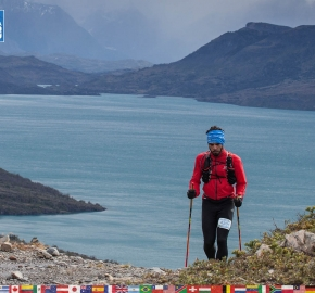 utf1904clsi0118FB; Ultra Trail Running in Patagonia, Chile; Ultra Fiord Fifth Edition 2019; Torres del Paine; Última Esperanza; Puerto Natales; Patagonia Running Ultra Trail; Claudio Silva