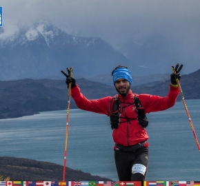utf1904clsi0119FB; Ultra Trail Running in Patagonia, Chile; Ultra Fiord Fifth Edition 2019; Torres del Paine; Última Esperanza; Puerto Natales; Patagonia Running Ultra Trail; Claudio Silva