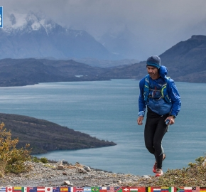 utf1904clsi0123FB; Ultra Trail Running in Patagonia, Chile; Ultra Fiord Fifth Edition 2019; Torres del Paine; Última Esperanza; Puerto Natales; Patagonia Running Ultra Trail; Claudio Silva