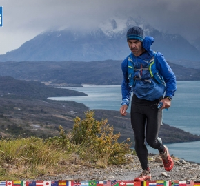 utf1904clsi0124FB; Ultra Trail Running in Patagonia, Chile; Ultra Fiord Fifth Edition 2019; Torres del Paine; Última Esperanza; Puerto Natales; Patagonia Running Ultra Trail; Claudio Silva