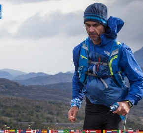 utf1904clsi0125FB; Ultra Trail Running in Patagonia, Chile; Ultra Fiord Fifth Edition 2019; Torres del Paine; Última Esperanza; Puerto Natales; Patagonia Running Ultra Trail; Claudio Silva