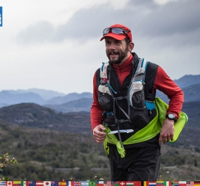 utf1904clsi0131FB; Ultra Trail Running in Patagonia, Chile; Ultra Fiord Fifth Edition 2019; Torres del Paine; Última Esperanza; Puerto Natales; Patagonia Running Ultra Trail; Claudio Silva