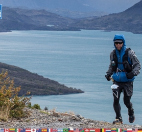 utf1904clsi0134FB; Ultra Trail Running in Patagonia, Chile; Ultra Fiord Fifth Edition 2019; Torres del Paine; Última Esperanza; Puerto Natales; Patagonia Running Ultra Trail; Claudio Silva
