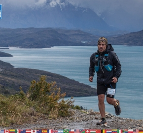 utf1904clsi0140FB; Ultra Trail Running in Patagonia, Chile; Ultra Fiord Fifth Edition 2019; Torres del Paine; Última Esperanza; Puerto Natales; Patagonia Running Ultra Trail; Claudio Silva