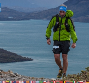 utf1904clsi0157FB; Ultra Trail Running in Patagonia, Chile; Ultra Fiord Fifth Edition 2019; Torres del Paine; Última Esperanza; Puerto Natales; Patagonia Running Ultra Trail; Claudio Silva