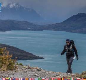 utf1904clsi0169FB; Ultra Trail Running in Patagonia, Chile; Ultra Fiord Fifth Edition 2019; Torres del Paine; Última Esperanza; Puerto Natales; Patagonia Running Ultra Trail; Claudio Silva