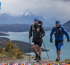 utf1904clsi0179FB; Ultra Trail Running in Patagonia, Chile; Ultra Fiord Fifth Edition 2019; Torres del Paine; Última Esperanza; Puerto Natales; Patagonia Running Ultra Trail; Claudio Silva