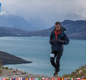 utf1904clsi0182FB; Ultra Trail Running in Patagonia, Chile; Ultra Fiord Fifth Edition 2019; Torres del Paine; Última Esperanza; Puerto Natales; Patagonia Running Ultra Trail; Claudio Silva