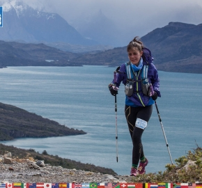 utf1904clsi0187FB; Ultra Trail Running in Patagonia, Chile; Ultra Fiord Fifth Edition 2019; Torres del Paine; Última Esperanza; Puerto Natales; Patagonia Running Ultra Trail; Claudio Silva